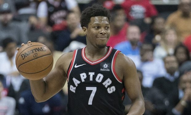 Kyle Lowry of the playoff ready Raptors