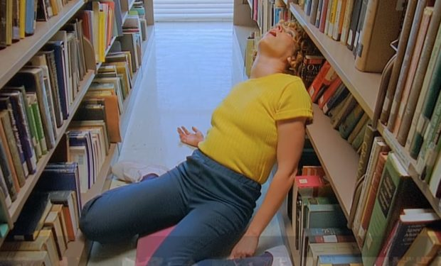 """Tune-Yards """"Heart Attack"""" video, directed by Mimi Cave (screen capture)"""