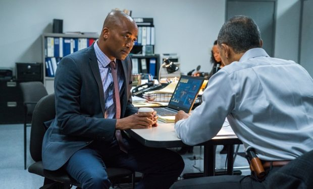DaJuan Johnson stars in 'Bosch' (photo: Amazon Studios)