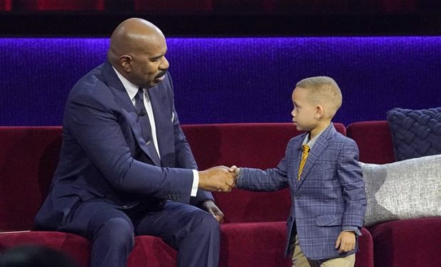 Trent on Little Big Shots