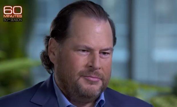 Marc Benioff Salesforce 60 Minutes CBS