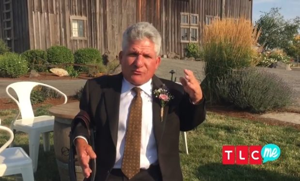 Matt Roloff at Molly's wedding