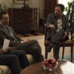 "DESIGNATED SURVIVOR - ""Kirkman Agonistes"" - As more content from President Kirkman's confidential therapy sessions continues to leak out, Vice President Darby meets secretly with the entire Cabinet, resulting in attorney Ethan West (Michael J. Fox) looking into the president's past - while playing a large role in his future as commander in chief, on ABC's ""Designated Survivor,"" WEDNESDAY, APRIL 18 (10:00-11:00 p.m. EDT), on The ABC Television Network. (ABC/Ben Mark Holzberg)"