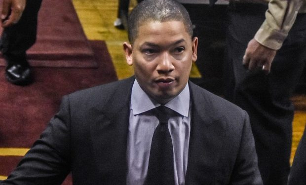 Cavaliers head coach Tyronn Lue (photo by Erik Drost via Wikimedia Commons)