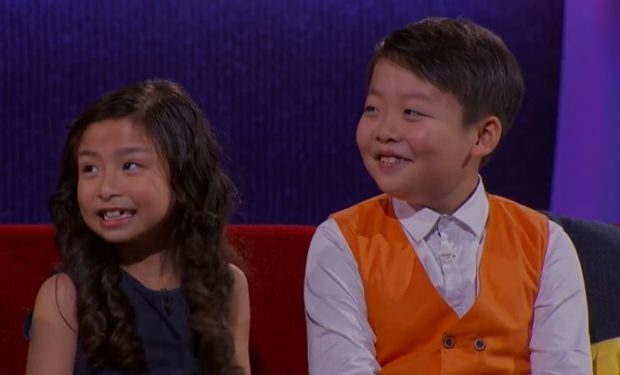 Celine Tam and Jeffrey Li on Little Big Shots NBC