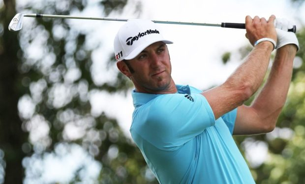 Dustin Johnson will compete in the 2018 US Open (photo by Keith Allison via Wikimedia Commons)