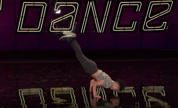 Gaevin dancing SYTYCD on FOX