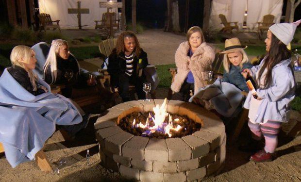 Little Women campfire