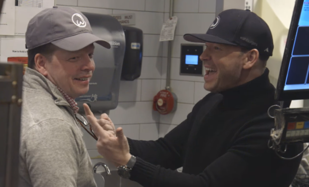 Paul and Donnie Wahlburgers A&E