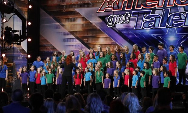 "AMERICA'S GOT TALENT -- ""Auditions 4"" Episode 1304 -- Pictured: Voices of Hope Children's Choir -- (Photo by: Trae Patton/NBC)"