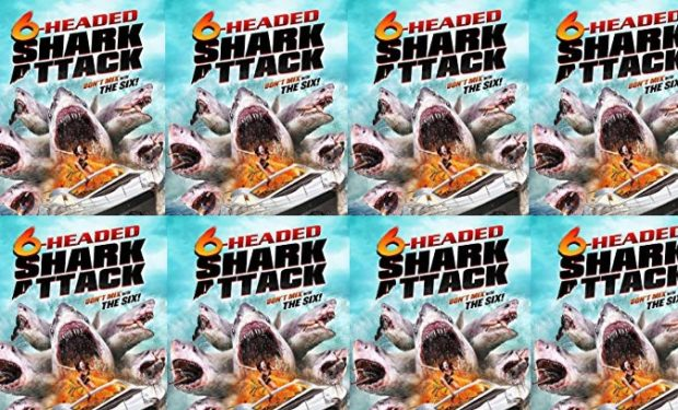 6 Headed Shark Attack
