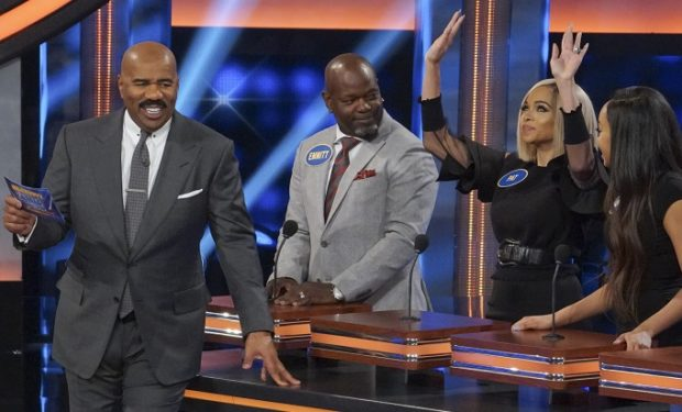 Emmitt Smith Celeb fam feud Abc
