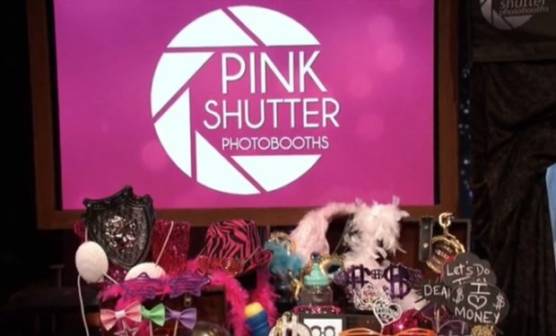 Pink Shutter Photobooths on Shark Tank ABC