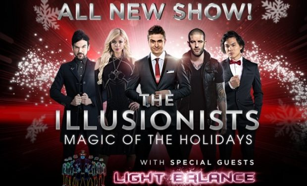 AGT: The Illusionists & Light Balance On Broadway For Holidays, $69-$249 Tickets