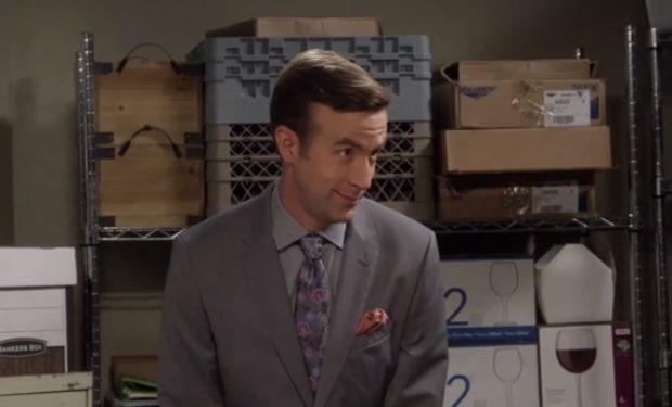 Matt Oberg as Geoffrey on MOM CBS grab