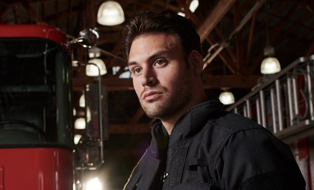 9-1-1: Ryan Guzman. CR: Michael Becker / FOX. © 2018 FOX Broadcasting.