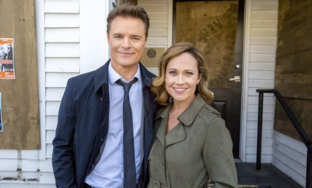 "View this post on Instagram Be sure to tune in and/or set your DVRs to watch these two dynamos in action. ""Truly, Madly, Sweetly"" • Saturday • Sept 22 • 9/8c • Hallmark Channel • @dylanjneal @hallmarkchannel @hallmarkmovie A post shared by Nikki DeLoach (@nikdeloach) on Sep 18, 2018 at 4:17pm PDT"