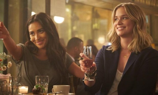 YOU Shay Mitchell and Elizabeth Lail