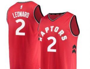 kawhi leonard toronto raptors jersey