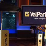 Wayne Johnson pitching ValPark Mobile on Shark Tank (ABC)