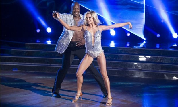Demarcus and Lindsay DWTS
