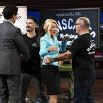 MARK CUBAN, STEVE KING AND JOSH KING (MANSCAPED), LORI GREINER