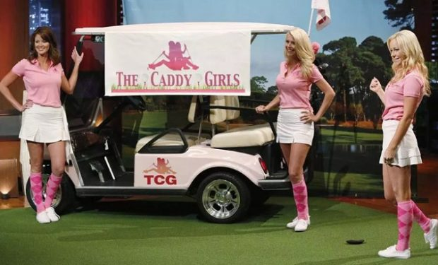 The Caddy Girls on Shark Tank ABC