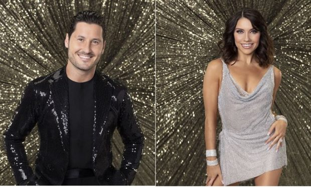 Val and Jenna DWTS