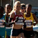 Shalane Flanagan at the NYC Marathon