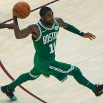 Kyrie_Irving sick ball handling skills drill standing on basketballs