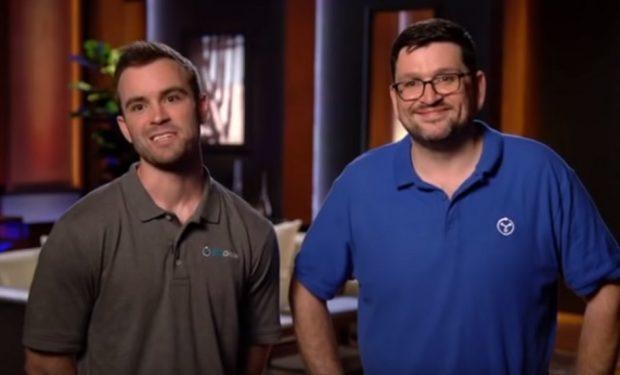 GeoOrbital founders on SHark Tank