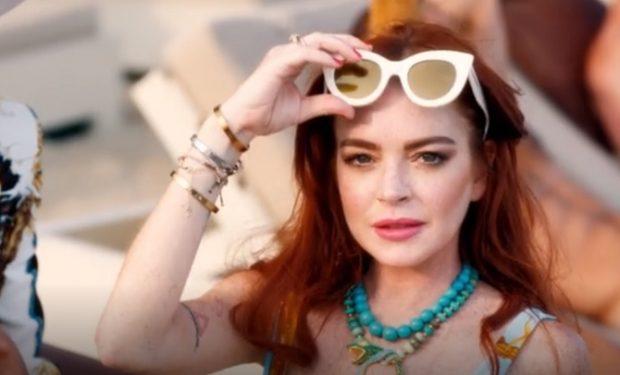 Lindsay Lohan Beach Club MTV