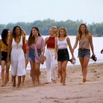 Bachelor girls on Thailand beach