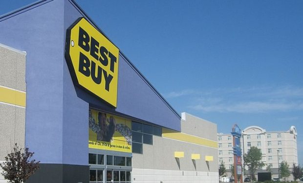 Best Buy store for happy customers