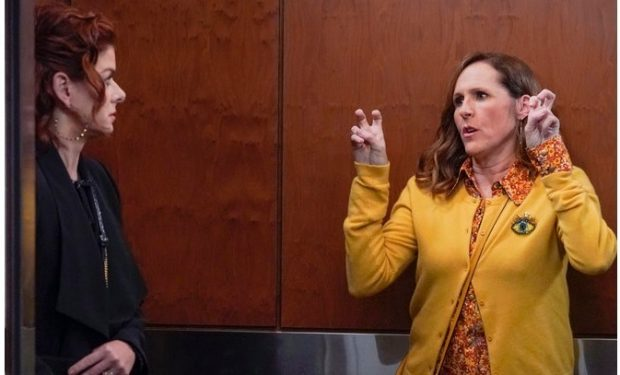 Molly Shannon on will and grace
