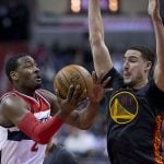 Klay Thompson defensive lock down gives fans cheering opportunities