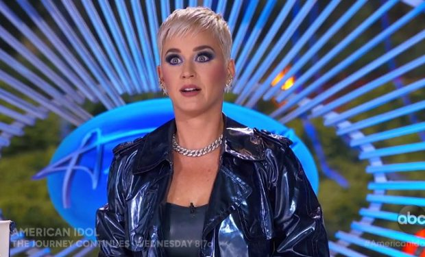 KATY PERRY Shocked face