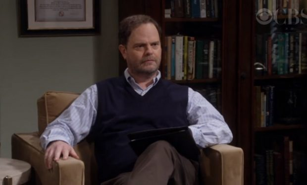 Rainn Wilson on MOM