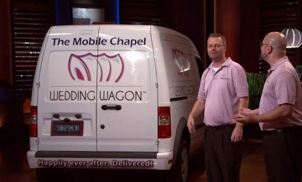 Wedding Wagon on Shark Tank