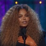Janet Jackson closeup