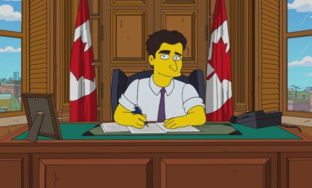 Simpsons Trudeau