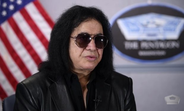 Gene Simmons DoD Video screengrab