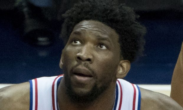 Joel Embiid 76ers center The Process poster child