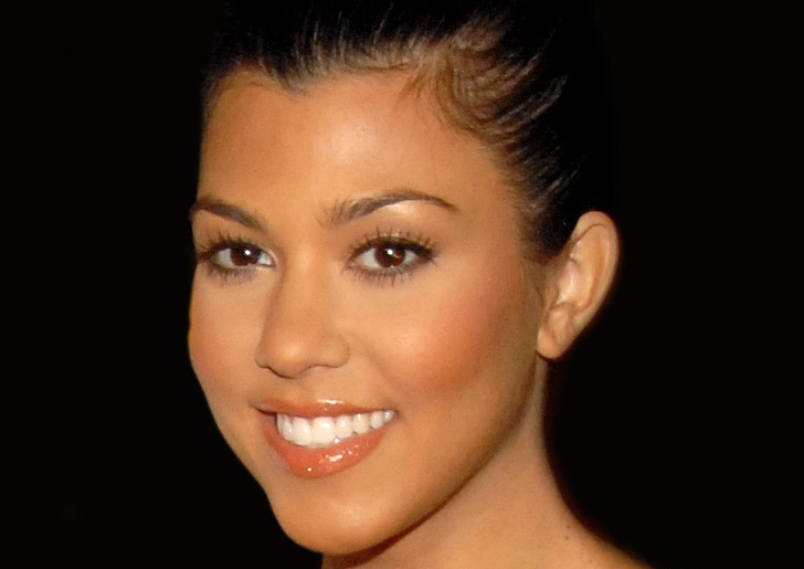 Kourtney Kardashian's Gothic Selfie Will Make You Re-Think Minnie Mouse