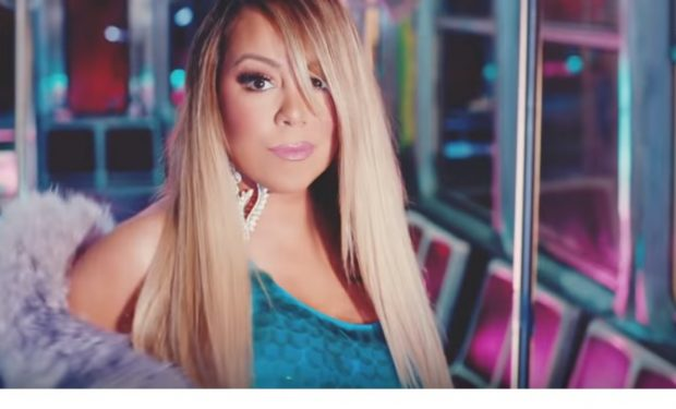 1571bc0c0537 Mariah Carey Wears  Thug Life  Tupac Shirt at Her Kids  Birthday Party
