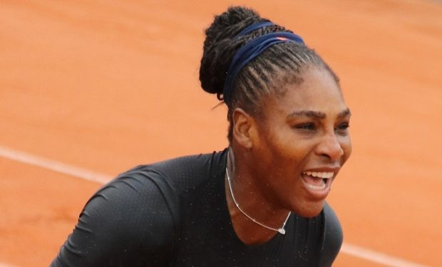 Serena Wililams at 2018 French Open