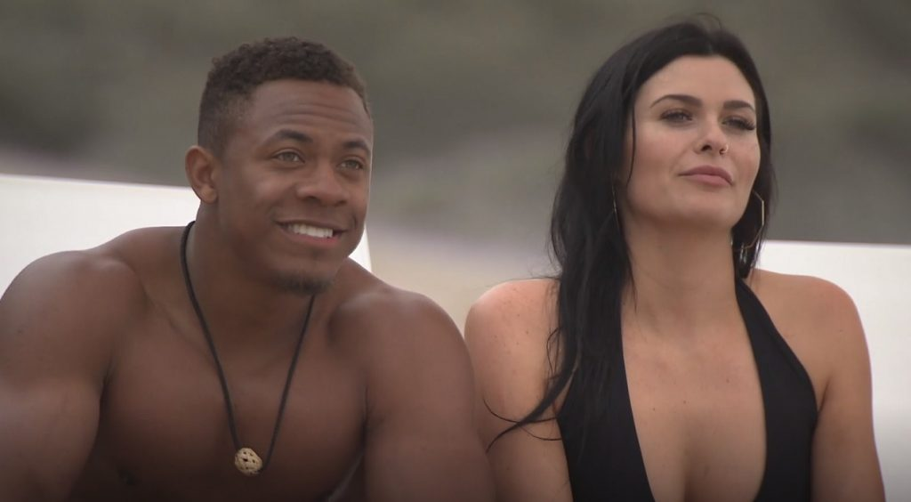 Cameron and Alexis on Ex on the Beach MTV