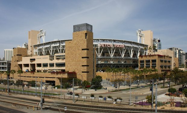 Padres home, Petco Park, photo: Bernard Gagnon [CC BY-SA 3.0], via Wikimedia Commons