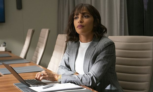 ALMOST FAMILY: Megalyn Echikunwoke in the ÒNotorious AFÓ episode of ALMOST FAMILY airing Wednesday, Oct. 16 (9:00-10:00 PM ET/PT) on FOX. ©2019 Fox Media LLC. CR: Cara Howe/FOX.