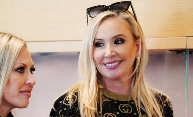 """THE REAL HOUSEWIVES OF ORANGE COUNTY -- """"Breakdown in Beverly Hills"""" Episode 1404 -- Pictured: (l-r) Braunwyn Windham-Burke, Shannon Storms Beador -- (Photo by: Nicole Weingart/Bravo)"""